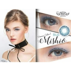 Review Softlens Mishio Blue By Dreamcon Normal Only Dki Jakarta
