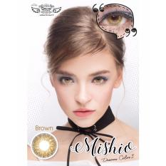 Softlens Mishio Brown By Dreamcon Normal Only Dki Jakarta Diskon 50