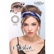Diskon Softlens Mishio Gray By Dreamcon Normal Only Dreamcon