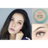 Spesifikasi Softlens Sweety Pitchy Brown Gratis Lens Case Baru