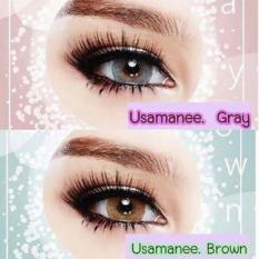 Diskon Softlens Usamanee Grey Branded