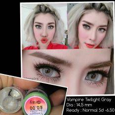 Softlens Vampire Twilight - Grey - Gratis Lens Case