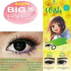 True Color Wish Softlens - Black + Lenscase
