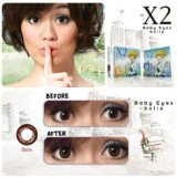 Review Softlens X2 Baby Eyes Bella Normal Terbaru