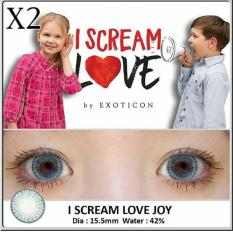 Softlens X2 I Scream Love Big Eyes 15.5mm + Lenscase