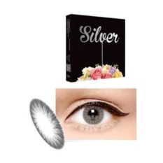 Softlens X2 ICE SILVER 02 CLOUDY GREY minus -2,50