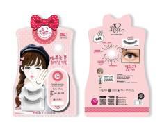 Toko Softlens X2 Lace Pink Free Bulu Mata Indonesia