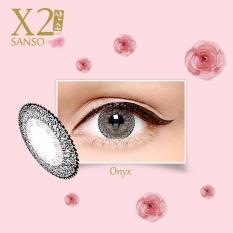 Jual Softlens X2 Sanso Color Onyx Original Murah
