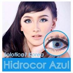 Jual Solotica1 Hidrocor Softlens Azul Free Lenscase Murah