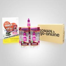 Soman Paket Super Special ( Isi 5 botol @15ml + 1 botol @7ml + 1 Buku )