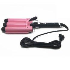 Diskon Produk Sonar Catok Curly F11 Profesional Salon Rambut Pink