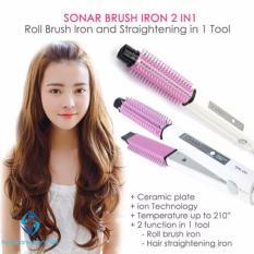 Sonar Sn 20 2In1 Hair Straighteners And Curler Catokan Asli