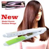 Diskon Sonar Sn 316 Catokan Rambut Lurus Plat Lebar Professional Hair Iron Putih Sonar