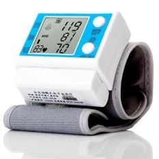 Penawaran Khusus Jual Wrist Tonometer Kesehatan Monitor Pulse Monitor Detak Baik Tekanan Darah Monitor Medidor De Pressao Arteri-Intl