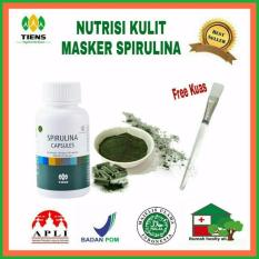 Review Spirulina Masker Jerawat 20 Kaps Free Kuas Cantik Tiens Supplement Di Indonesia