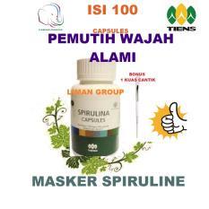 Perbandingan Harga Spirulina Masker Wajah Alami Tiens 100 Kapsul Lengkap Gratis 1 Kuas Cantik Paling Ampuh Hilangin Jerawat By Liman Group Tiens Di Jawa Timur