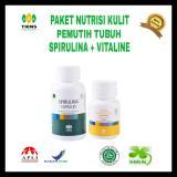 Toko Spirulina Vitaline Paket Pemutih Badan 130 Kapsul Terlengkap