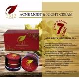 Spesifikasi Sr12 Acne Moist And Night Cream Perawatan Jerawat Untuk Muka Wajah Sr12 Terbaru