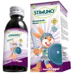 Stimuno Syrup Grape 100 Ml - Meningkatkan Daya Tahan Tubuh, Kekebalan Tubuh, Sistem Imunitas Tubuh