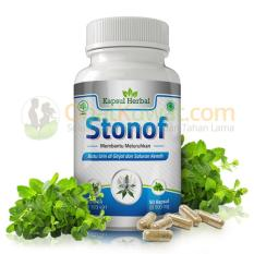 Beli Stonof Obat Herbal Bpom Membantu Meluruhkan Batu Ginjal Dan Atasi Infeksi Saluran Kemih Pakai Kartu Kredit