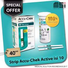 Spesifikasi Strip Tes Accu Chek Active Isi 10 Gula Darah