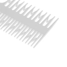 Gaya Salon Kecantikan Rambut Sisir dengan Fish Tail Bone Shape Comb Dyeing Alat-Internasional
