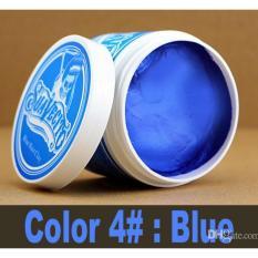 Toko Suavecito Hair Color Coloring Clay Wax Pomade Pewarna Non Permanent Warna Biru Blue Suavecito Online
