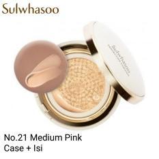 Jual Sulwhasoo Perfecting Cushion No 21 Medium Pink Case Isi Online Di Jawa Barat