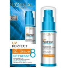 Beli L Oreal Paris Sunblock Wajah Paris Uv Perfect City Resist 8 With Spf 50 Pa Uva Uvb Kredit Banten