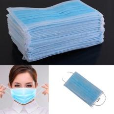 Rp 62000 Sunshop 50 Pcs Sekali Pakai Ear Loop Wajah Mulut Masker Dental Bedah Medis Anti