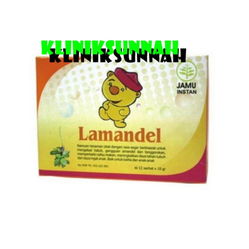 Harga preferensial Super Herbafit Lamandel Herbal Amandel Tanpa Operasi 12 Saset beli sekarang - Hanya Rp17