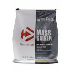 Super Mass Gainer 12 Lbs Vanilla New Packaging Resmi Lisensi Dni Dan Bpom Dymatize Nutrition Diskon 50