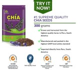 Beli Barang Suplementos Chia Seeds Organically Grown 300Grams Online