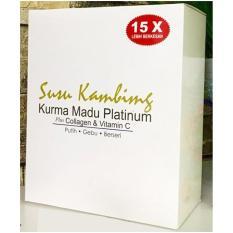 Susu Kambing Kurma Madu Platinum - Nutrisi Kulit Sekaligus Nutrisi Tubuh Rasa Original