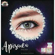 Jual Sweety Apisada Grey Softlens Normal Minus 00 Gratis Lenscase Grosir