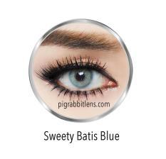 Jual Sweety Batis Blue Softlens Minus 75 Gratis Lenscase Sweety Ori