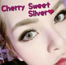 Jual Sweety Cherry Silver Softlens Minus 2 00 Gratis Lens Case Branded Murah