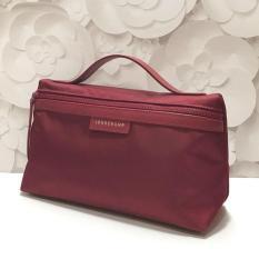 Tas longchamp original - LC le pliage neo cosmetic case maroon