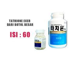 Tathione Korea Original Suplemen Kulit - isi 60 kapsul | Met Glutamen Glutax