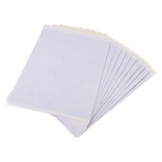 Cuci Gudang Tattoo Paper A4 Size Spirit Thermal Stencil Transfer Body Art Tracing Kit Copier 10Sheets Intl