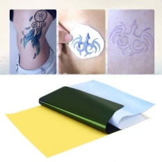 Jual Tattoo Transfer Kertas Karbon Supply Tracing Copy Body Art Stensil A4 10 Lembar Intl Oem