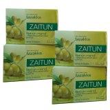 Spesifikasi Tazakka Sabun Mandi Herbal Zaitun 4Pcs Yang Bagus