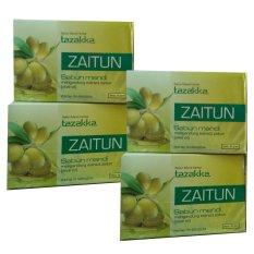 Tazakka Sabun Mandi Herbal Zaitun - 4pcs