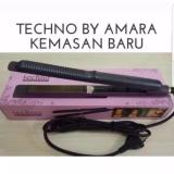 Review Techno 2In1 Hair Curly Straight Curly Hair Straightener Curly Catokan Hi Techno