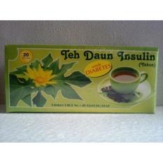 Teh Celup Daun Insulin Herbal Yakon  - Untuk Diabetes - isi 20 teh celup