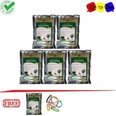 Teh Peluntur Lemak Daun Jati Cina Teh Pelangsing - 5+1 Pcs + Ikat Rambut Klik to Buy - 1 Pcs