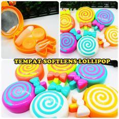 Tempat Softlens Bentuk Lollipop / Lenscase Lollipop Travel Kit