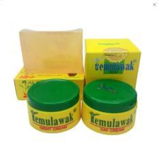 Temulawak Cream Day and Night Plus Sabun Widya Holo Emas