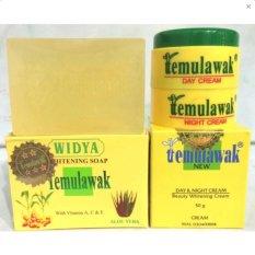 Temulawak Cream Day and Night Sabun Widya Holo Emas