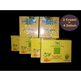 Temulawak Cream Siang Malam Original Plus Sabun 2 Set Cream 4Pcs Sabun Asli